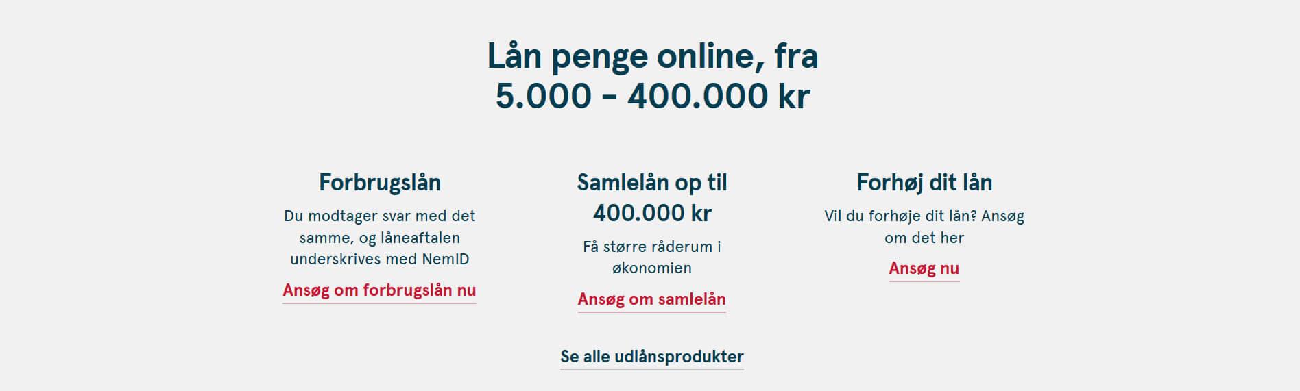 lån penge hos bank norwegian